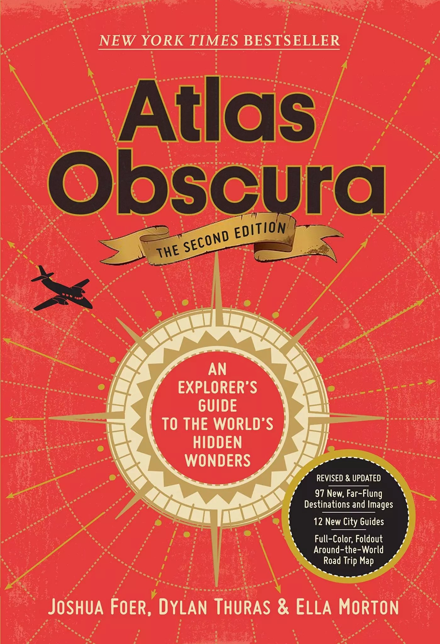 Atlas Obscura 2nd ed Foer cover