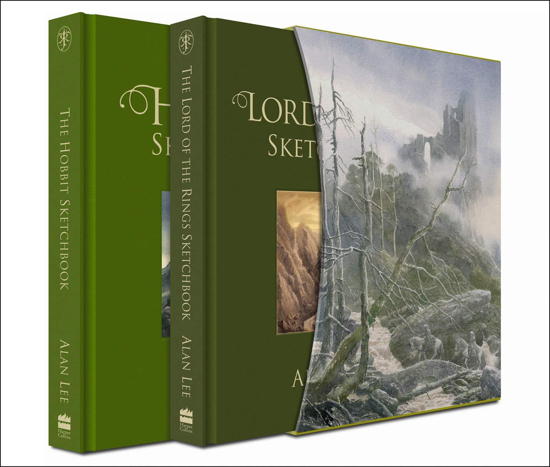 deluxe lotr sketchbooks hobbit alan lee
