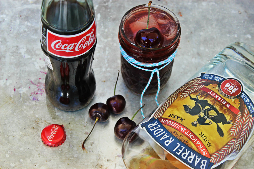 , Bourbon Cherry Vanilla Coke