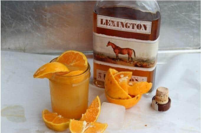 , Bourbon Orange Smash