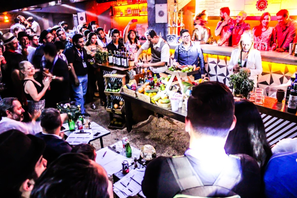 , Exploration into the realm of Rum, Mezcal, Gin and Ancho Reyes