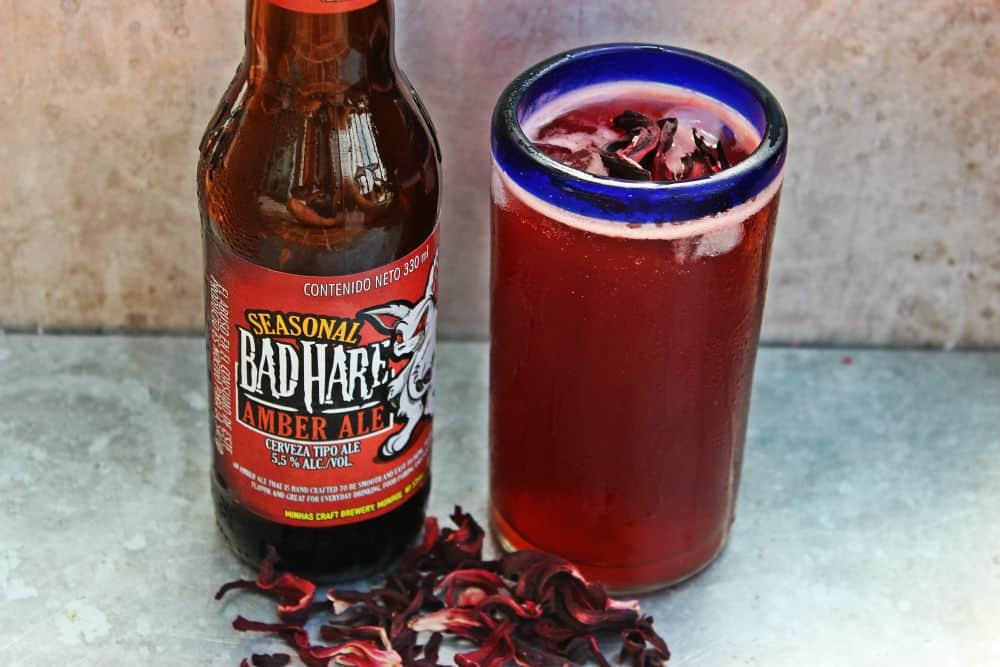 , Hibiscus Spiked Beer