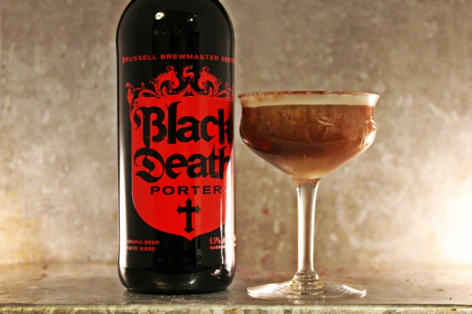 , Whiskey and Gingerbread Porter Sour