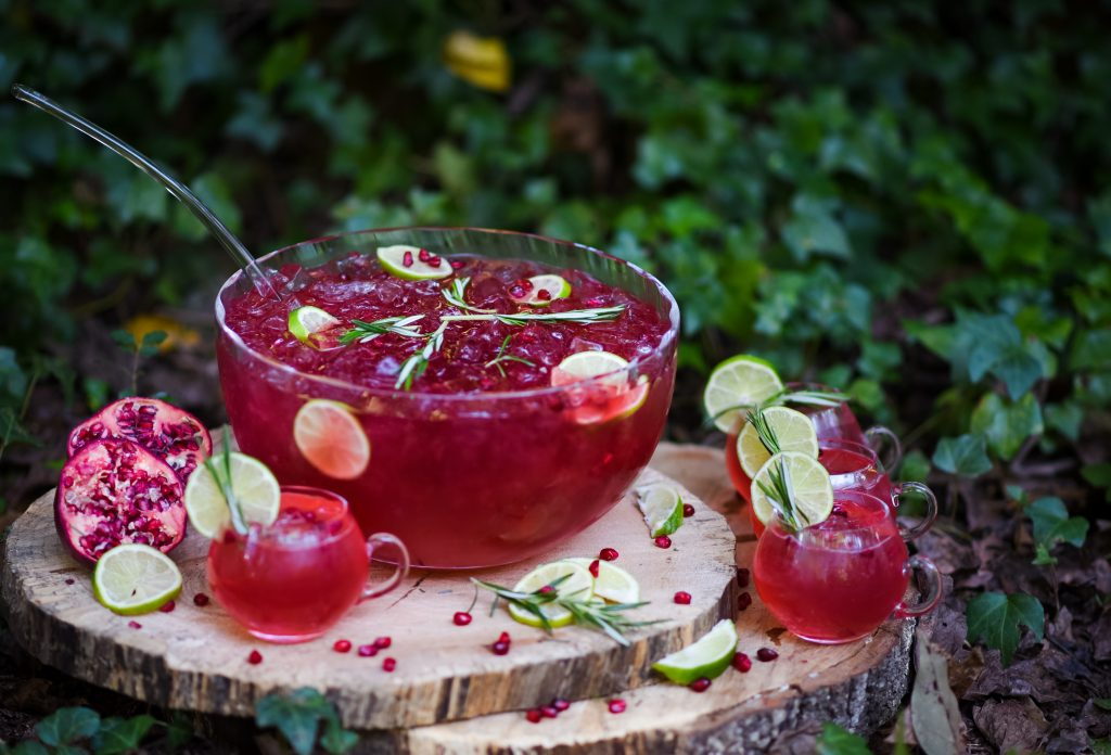 , Pomegranate Mule Punch