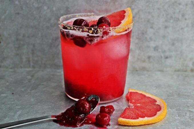 , Fresh Cranberry Sauce Paloma