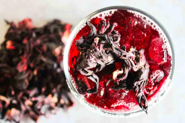 , Hibiscus Tea Margarita
