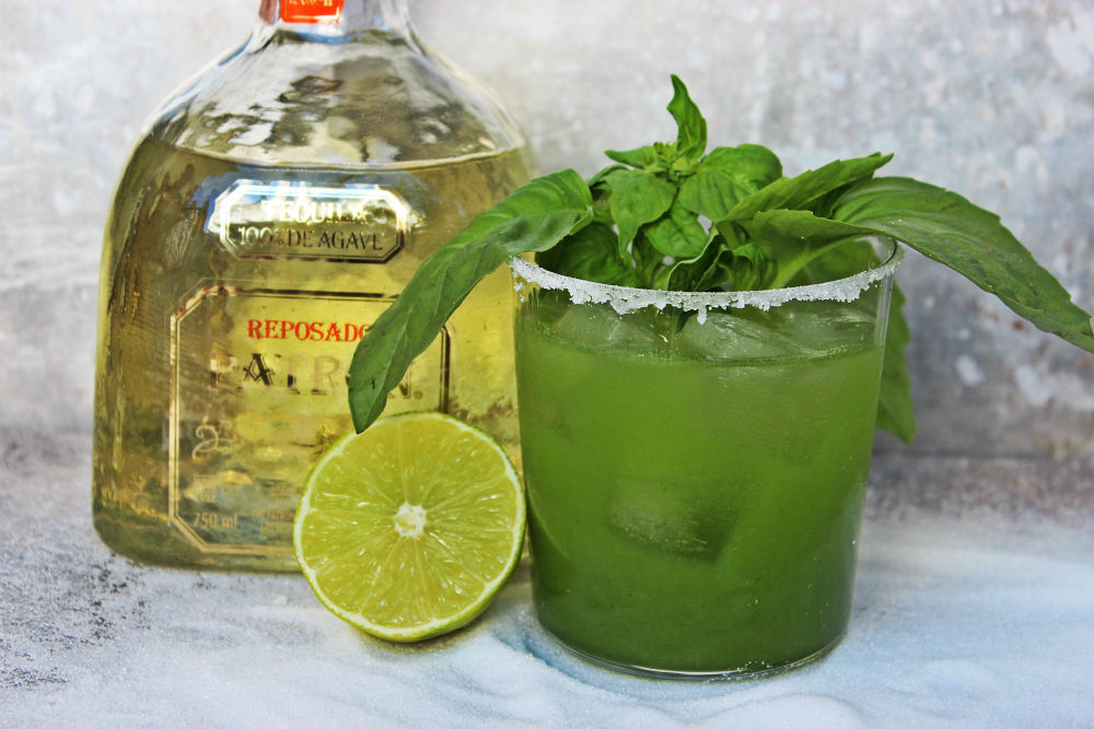 , Honeydew and Basil Margarita