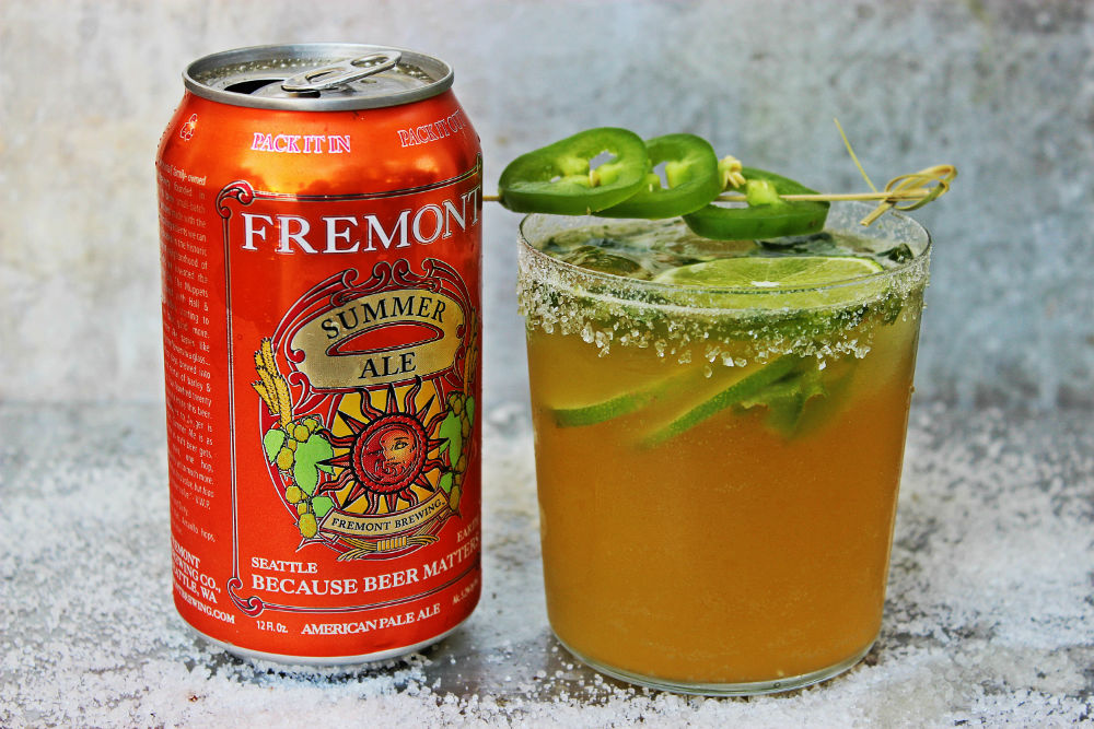 , Spicy Summer Ale Margarita