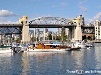 Granville Island Beautiful British Columbia Photo By Thanasis Bounas