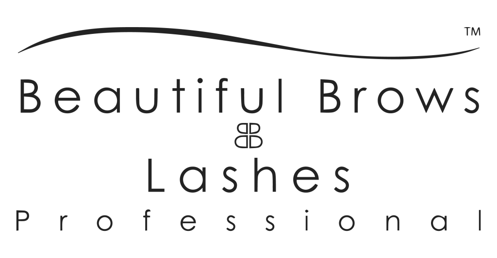 Beautiful Brows and Lashes Black Logo