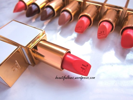 Swatches: Tom Ford Ultra-Rich Lip Color | beautifulbuns ...