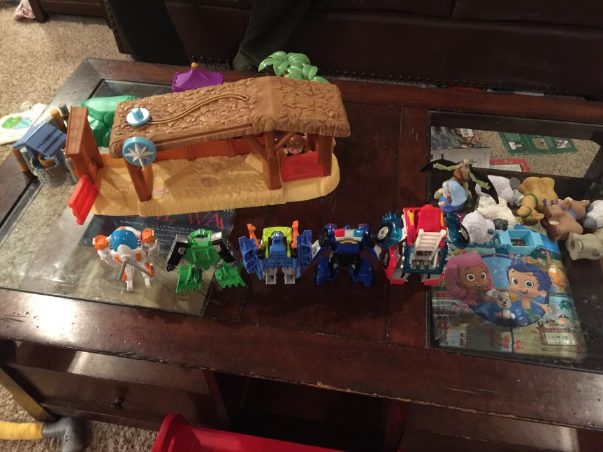 RescueBots, TMNT, & A Modern-Day Nativity Story