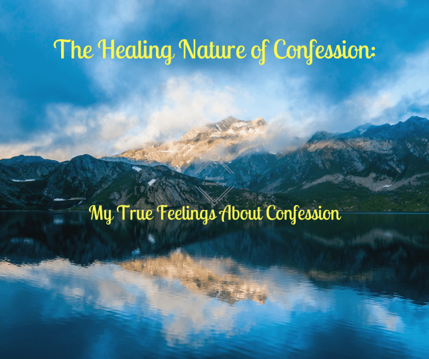 The Healing Nature of Confession_