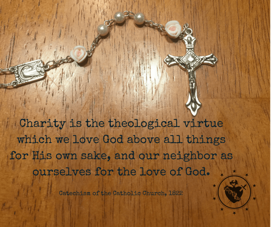 CCC Quote on Charity