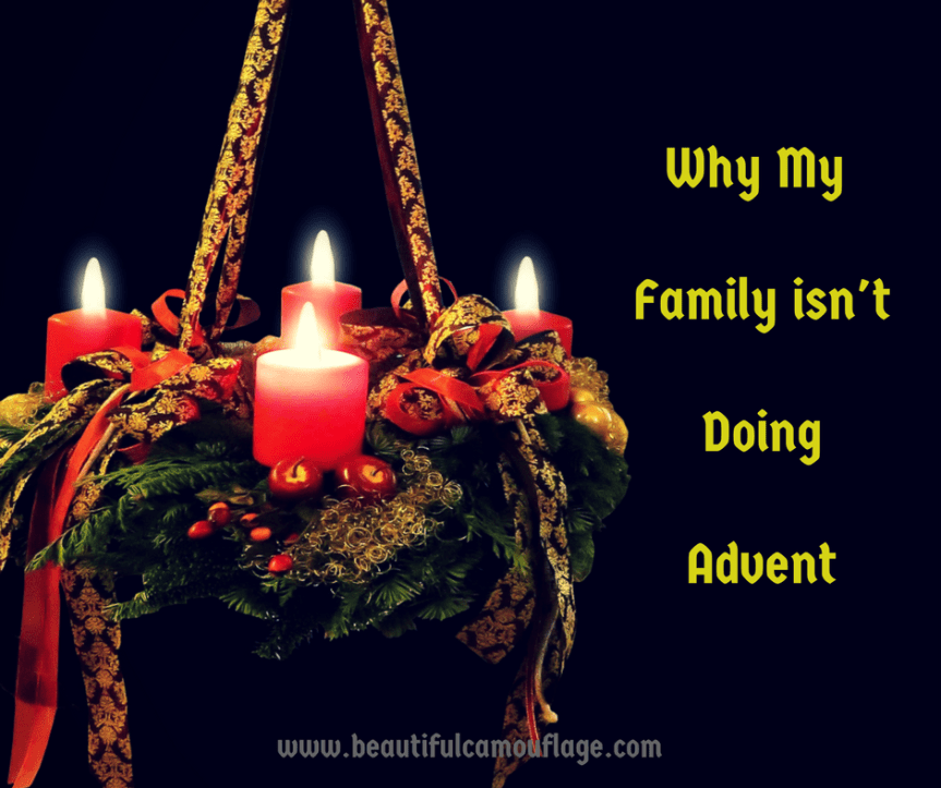 Why My Family isn't Doing Advent