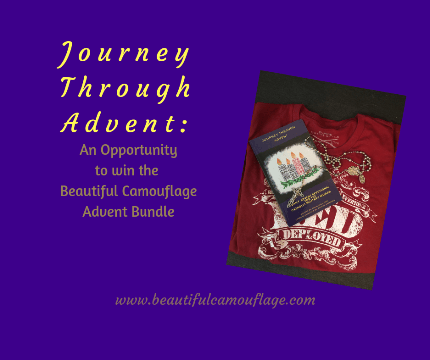 "Journey Through Advent: An Opportunity to Win the ""Beautiful Camouflage Advent Bundle"""