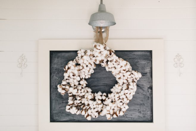 interior design wreath ideas