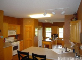 Before farmhouse kitchen renovation