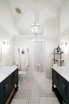 Farmhouse Master Bathroom Renovation