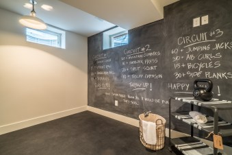 Man Cave and Workout Room Renovation