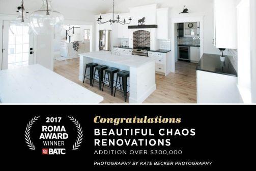 Award-winning farmhouse rebuild