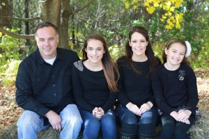 Home Renovation Team member, Steve Nelson, Owner, and his family