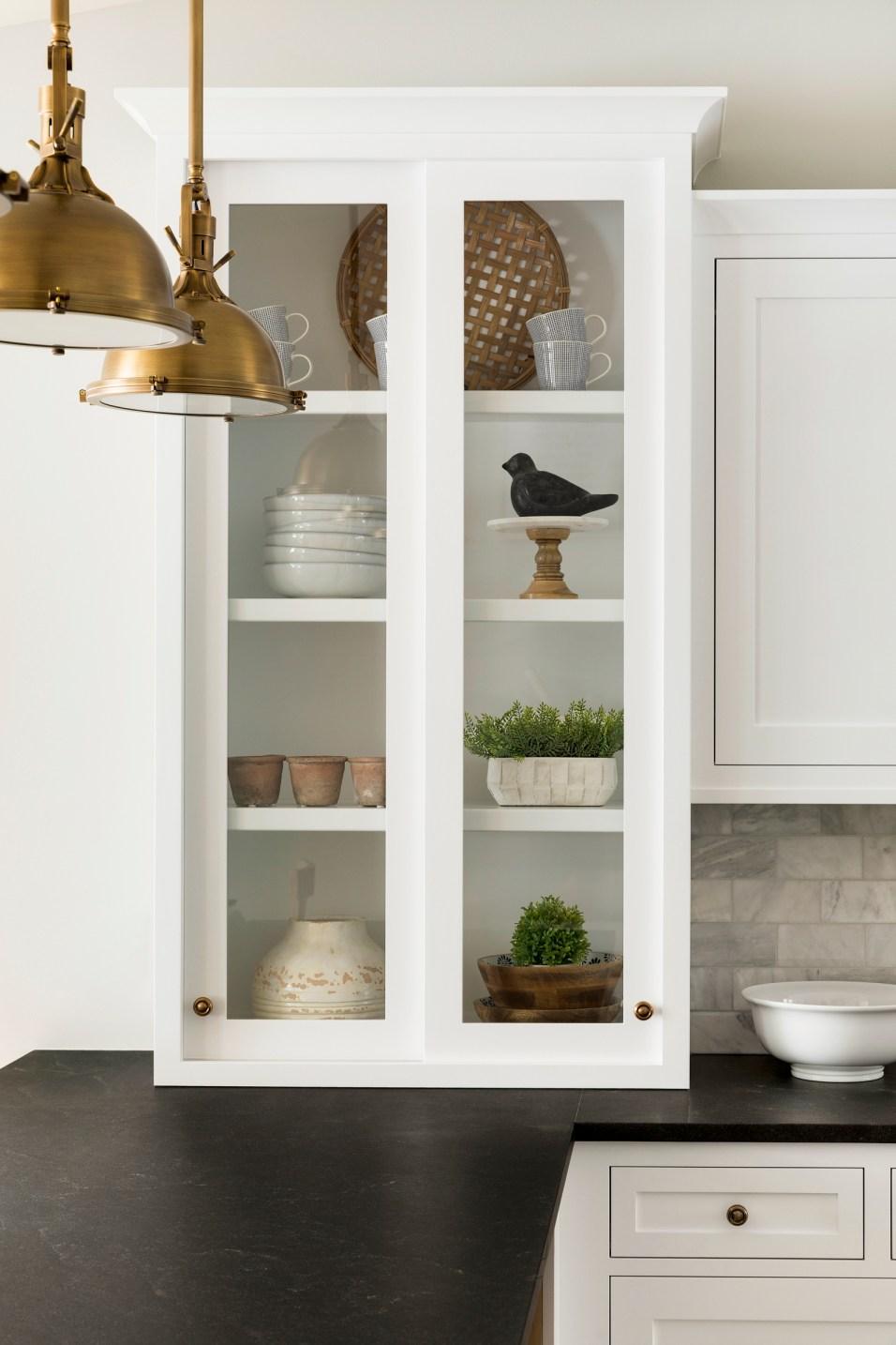 Lake Home Custom Clear Cabinets Home Renovation