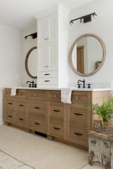 master bathroom vanity and mirrors