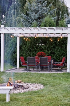 farmhouse firepit