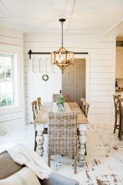 Beautiful Chaos Farmhouse Dining Room