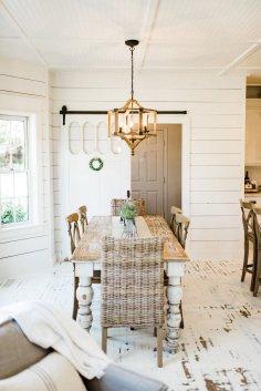 Beautiful Chaos Farmhouse Dining Room