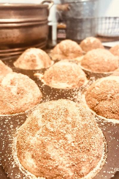 Lukas's Cinnamon Muffins { dairy-free }