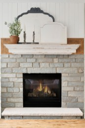 Cottage Style Fireplace