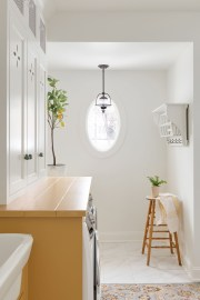 Make your laundry room bright and cheery