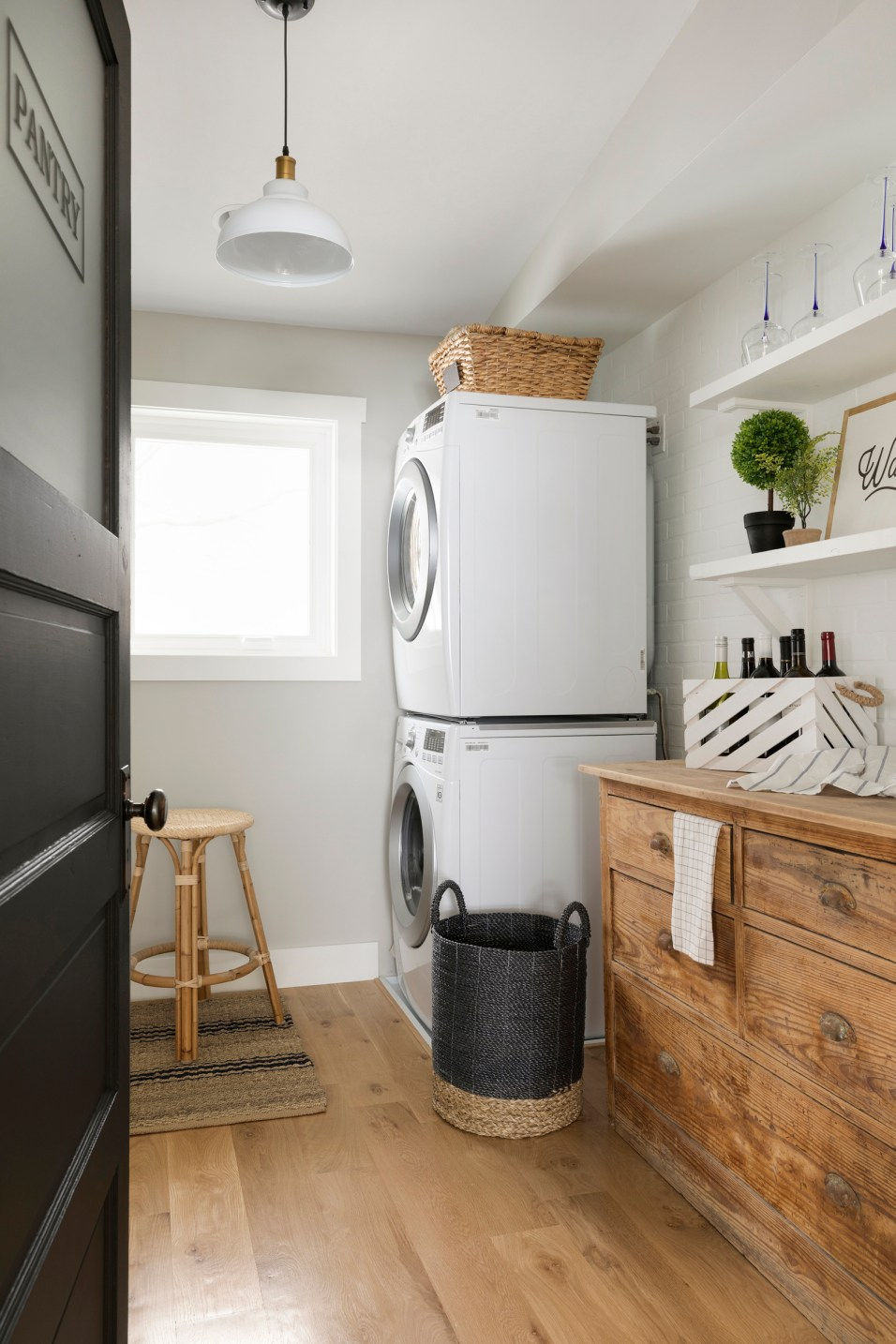 Hamptons Style Laundry Room