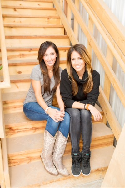 Missy Scherber and Sarah Martin