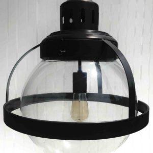 Large bistro globe pendant