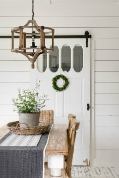 farmhouse dining room decor for fall
