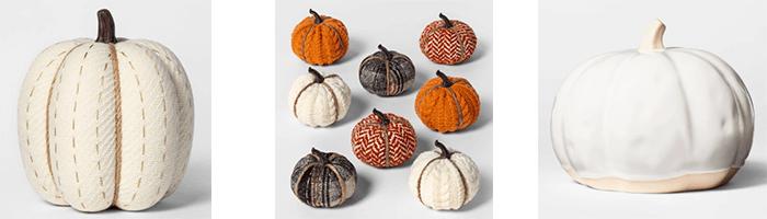 pumpkins decorating for fall