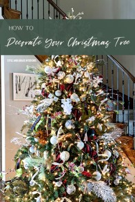 How to Decorate Your Christmas Tree