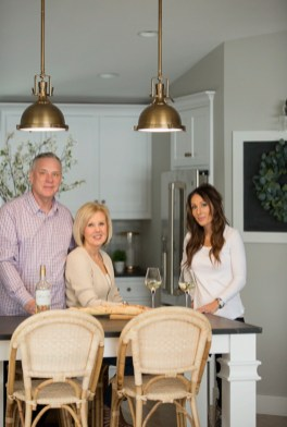 The clients from our Hamptons Lake Home project.