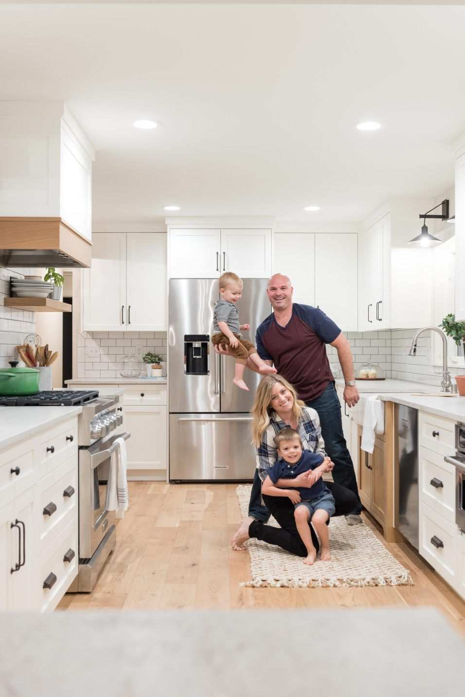 Beautiful Chaos Renovation Family