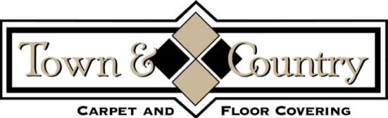 Town & Country Carpet and Floor Covering Logo