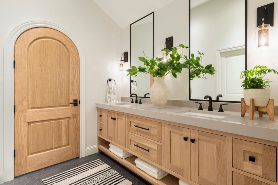 Modern Bathroom Renovation in Eden Prairie