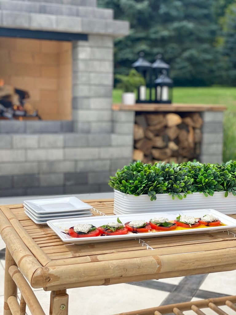 easy caprese summer salad recipe