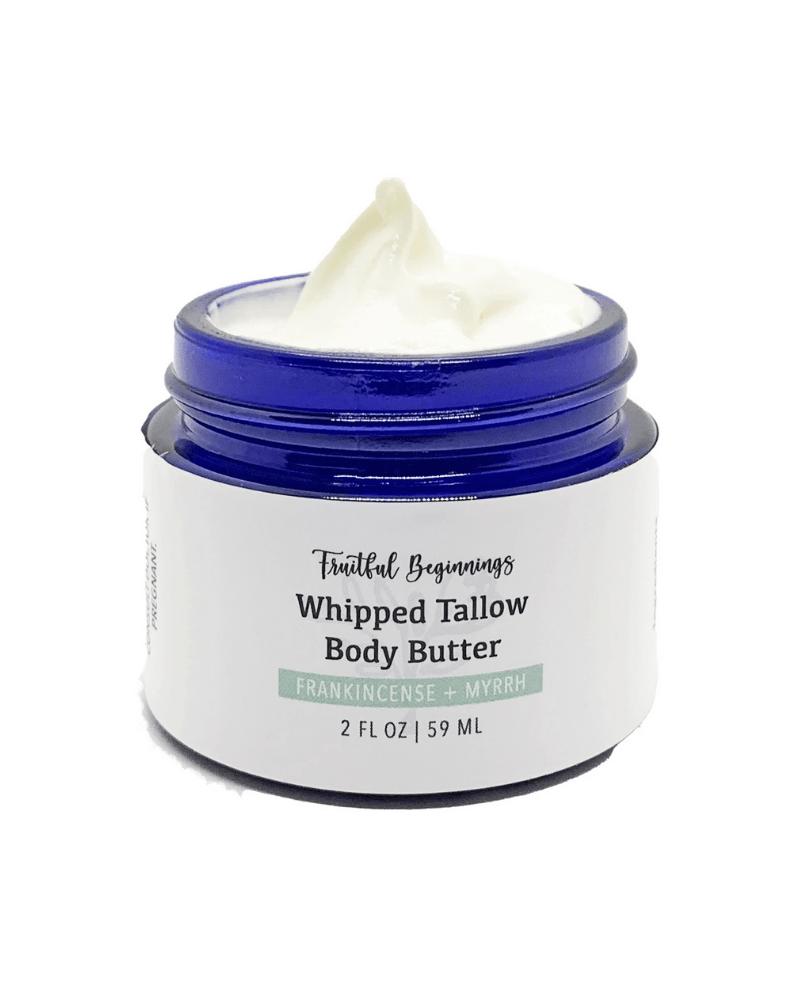 whipped tallow body butter