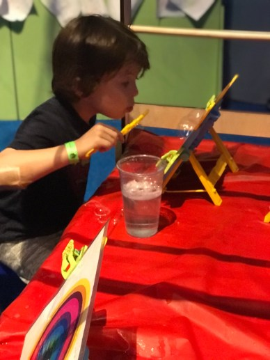 Bubble Art Hands-on Exhibit at Bubblefest 2018 at Discovery Cube