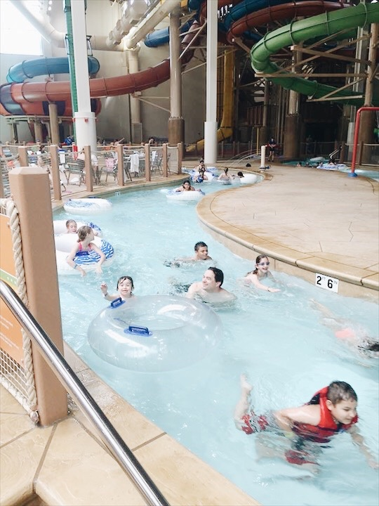 Great Wolf Lodge Garden Grove (Orange County, CA) Lazy River
