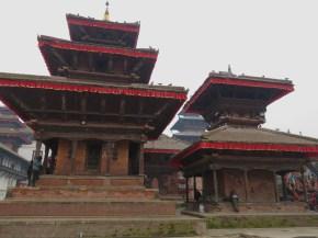 Durbar Square - Kathmandu Nepal - by Anika Mikkelson - Miss Maps