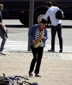 Street side Jazz Solo - Oslo, Norway - by Anika Mikkelson - Miss Maps